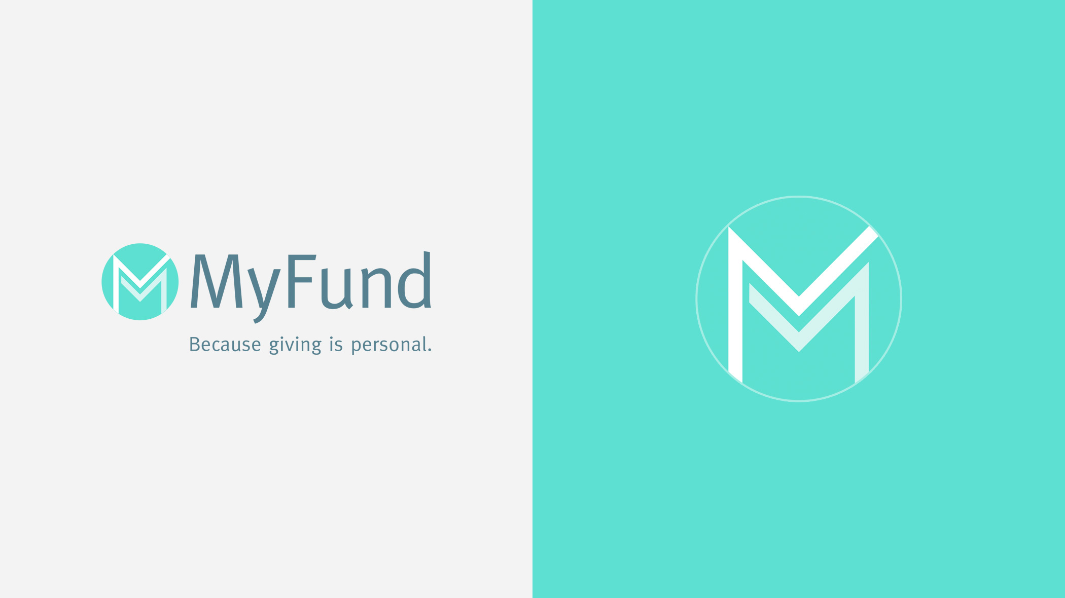 The MyFund logo with name and as a stand-alone icon